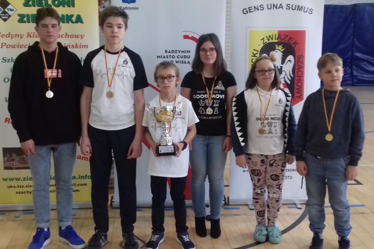 Drużynowe Mistrzostwa Mazowsza w szachach szybkich i błyskawicznych